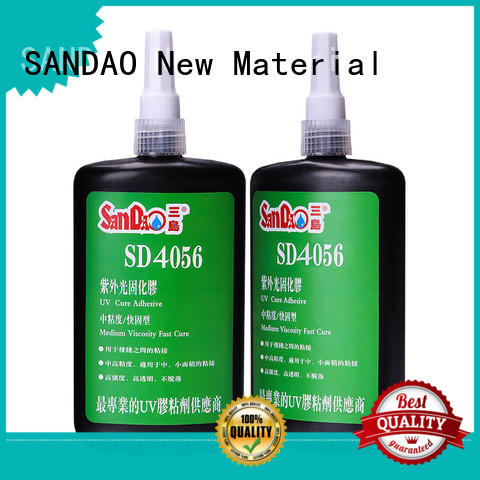 SANDAO best uv bonding glue for wholesale for fixing products