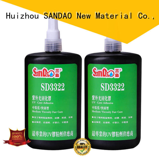 SANDAO resin uv bonding glue from manufacturer for electrical products