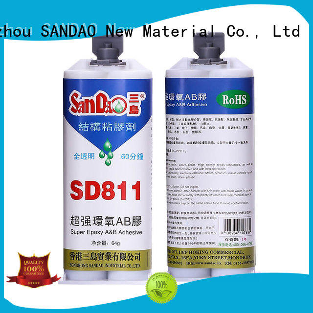 parts epoxy resin adhesive resin SANDAO company