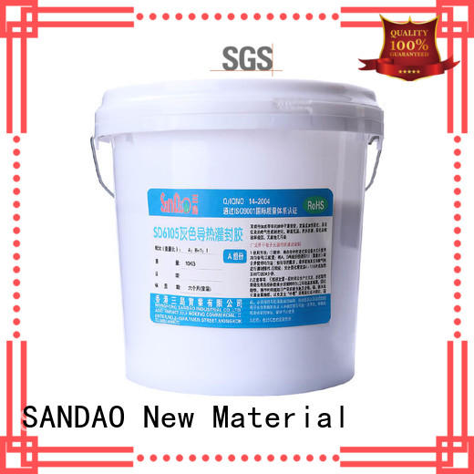 environmental Two-component addition-type potting adhesive TDS organic supply for metalparts