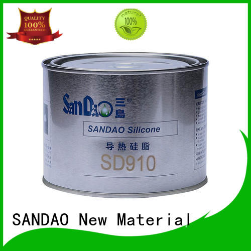 SANDAO silicone Thermal conductive material TDS producer for TV power amplifier tube