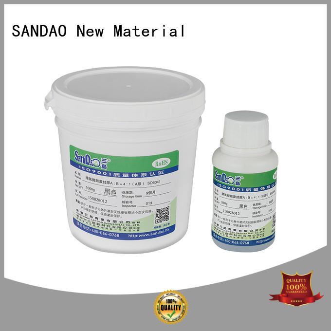 SANDAO new-arrival ge rtv silicone epoxy for metalparts
