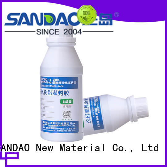 SANDAO durable Two-component addition-type potting adhesive TDS for electroplating