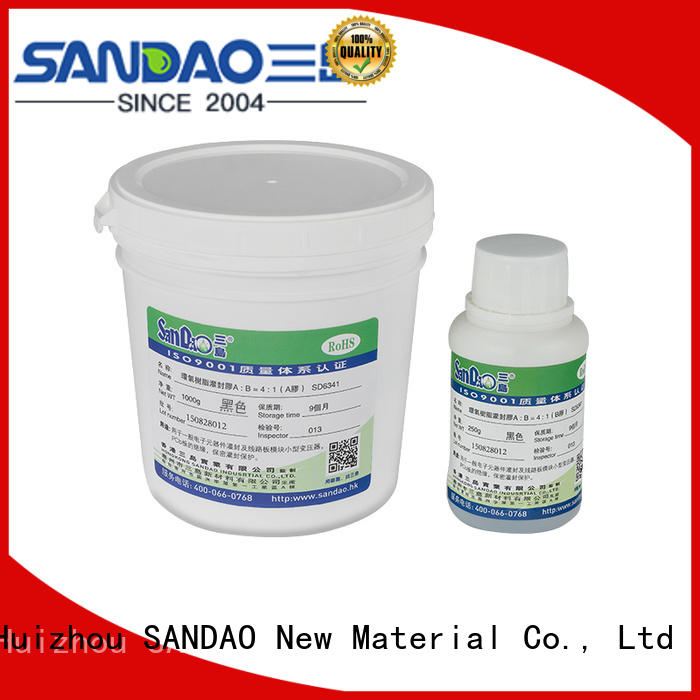 SANDAO twocomponent Two-component addition-type potting adhesive TDS supply for electroplating