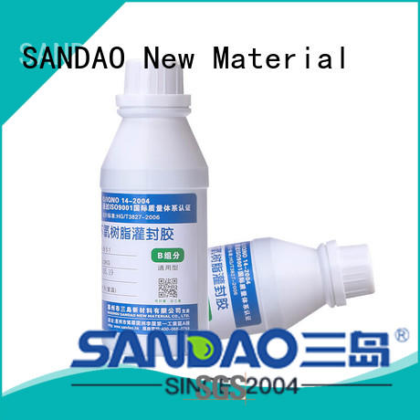 SANDAO electronic Two-component addition-type potting adhesive TDS certifications for fixing products