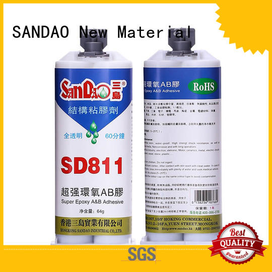 SANDAO epoxy 2 part epoxy adhesive from manufacturer for Semiconductor refrigeration