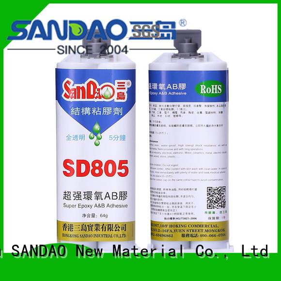 SANDAO popular 2 part epoxy adhesive fast for heat sink