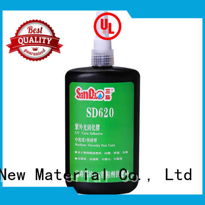 SANDAO nice uv bonding glue from manufacturer for electronic products