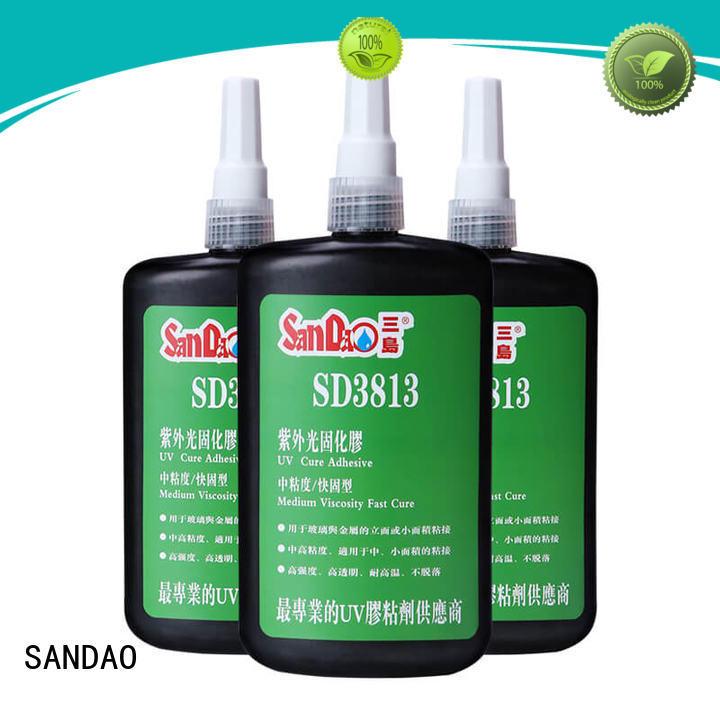 SANDAO reasonable uv bonding glue bulk production for electrical products