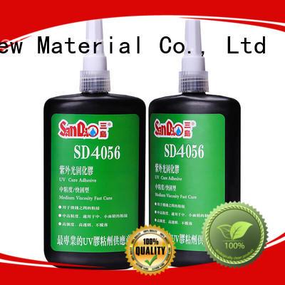 SANDAO nice uv bonding glue free design for electrical products