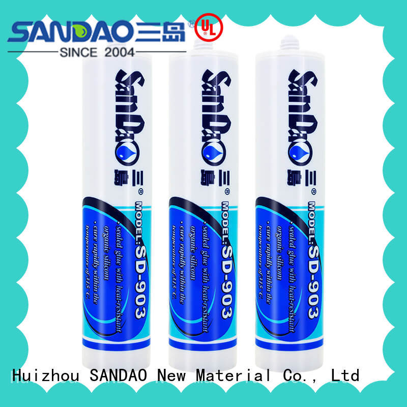 SANDAO waterproof rtv silicone rubber supply for screws