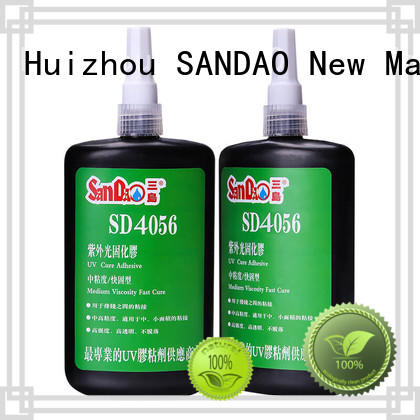 SANDAO excellent uv bonding glue bulk production for electrical products