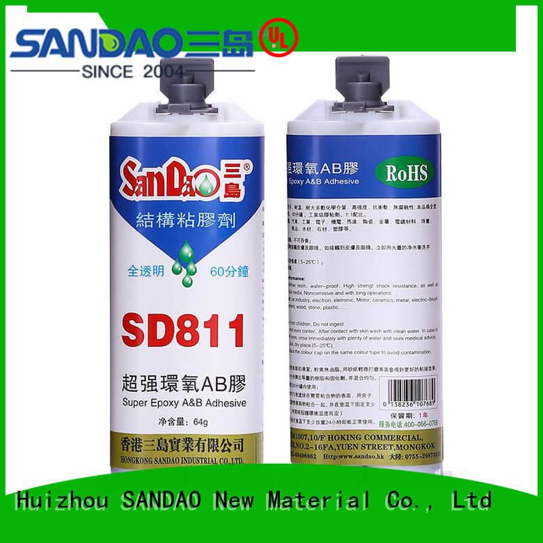 SANDAO inexpensive epoxy resin bulk production for heat sink