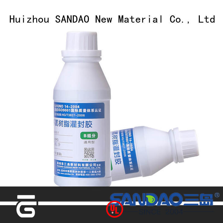 SANDAO new-arrival Two-component addition-type potting adhesive TDS producer for electroplating
