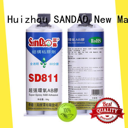 SANDAO reasonable epoxy adhesive from manufacturer for TV power amplifier tube