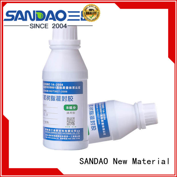 resin Two-component addition-type potting adhesive TDS silicon for electronic parts SANDAO