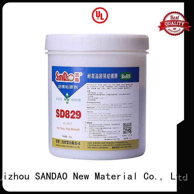 SANDAO resistant epoxy ab glue bulk production for Semiconductor refrigeration