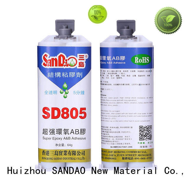 SANDAO temperature epoxy resin free design for coffee pot gap filling