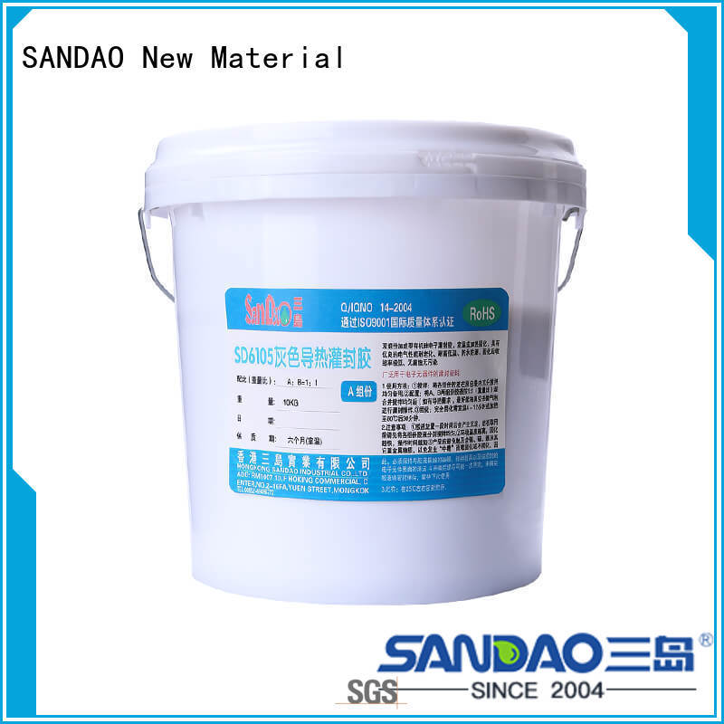 SANDAO silicon Two-component addition-type potting adhesive TDS widely-use for electroplating