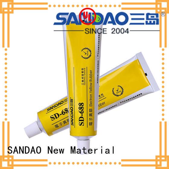 Electronic flame retardant yellow adhesive SD688