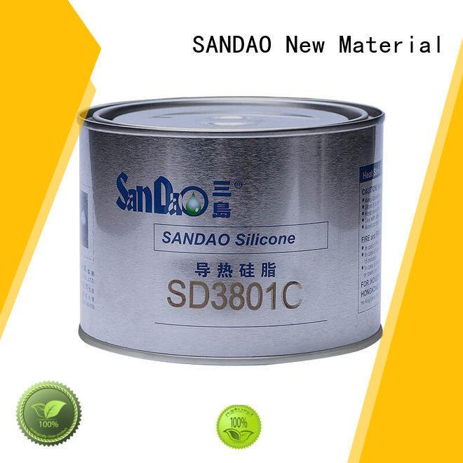 Economical heat conductive silicone grease SD3801