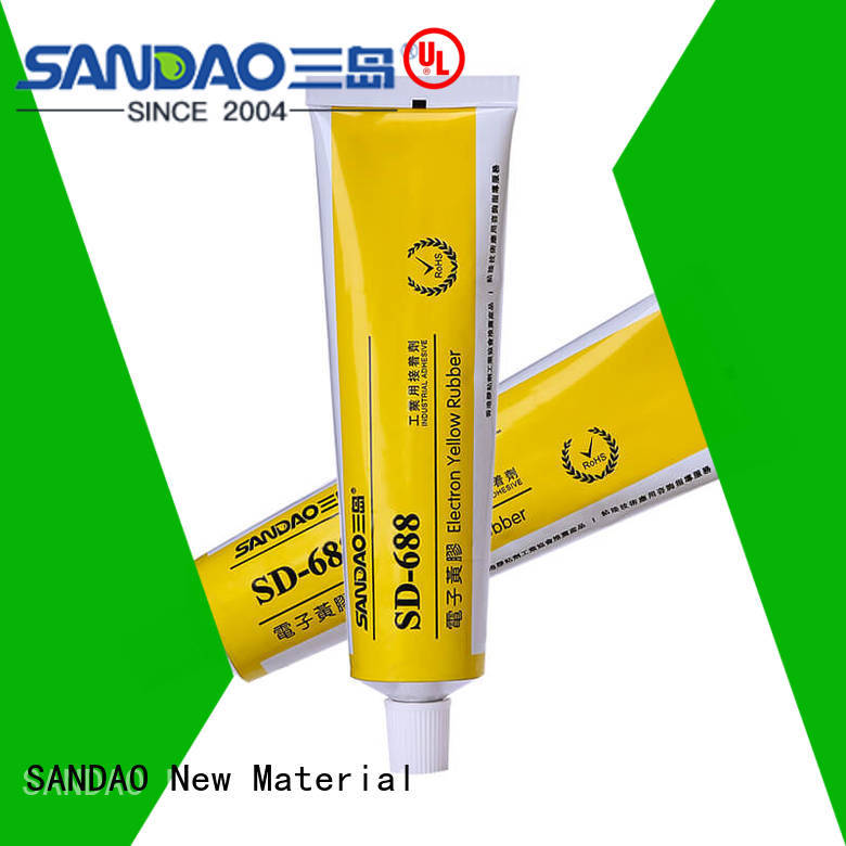 SANDAO One-component RTV silicone rubber TDS factory for screws