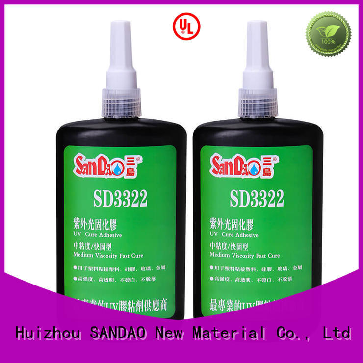 nice uv adhesive for glass factory price for fixing products SANDAO