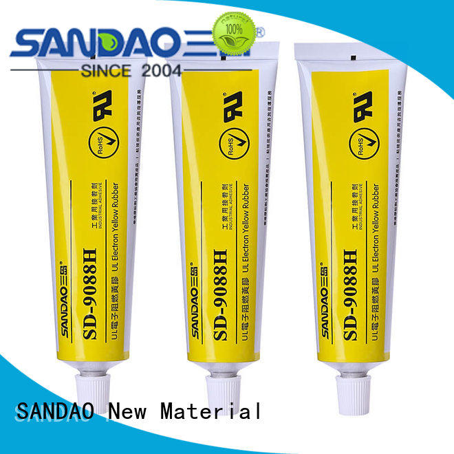 SANDAO waterproof One-component RTV silicone rubber TDS producer for substrate