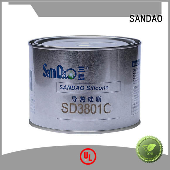 SANDAO flame rtv silicone rubber producer for diode