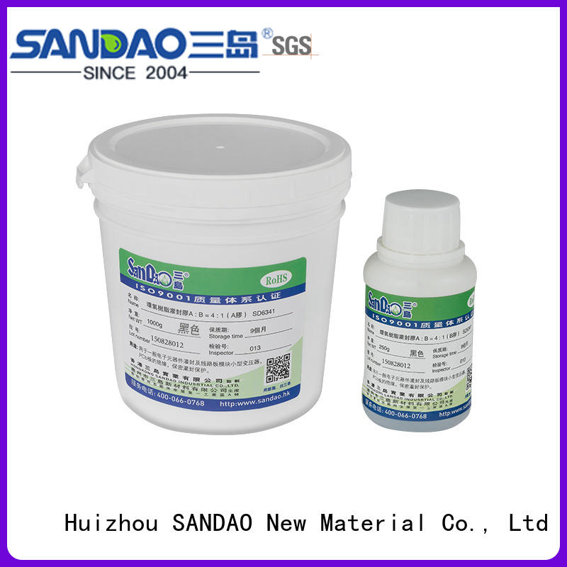 epoxy Two-component addition-type potting adhesive TDS supply for electronic parts SANDAO