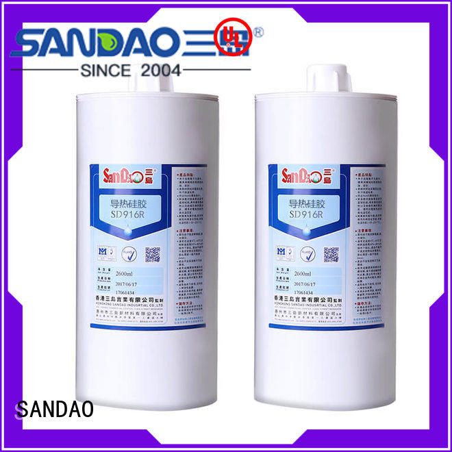 SANDAO component One-component RTV silicone rubber TDS wholesale for power module