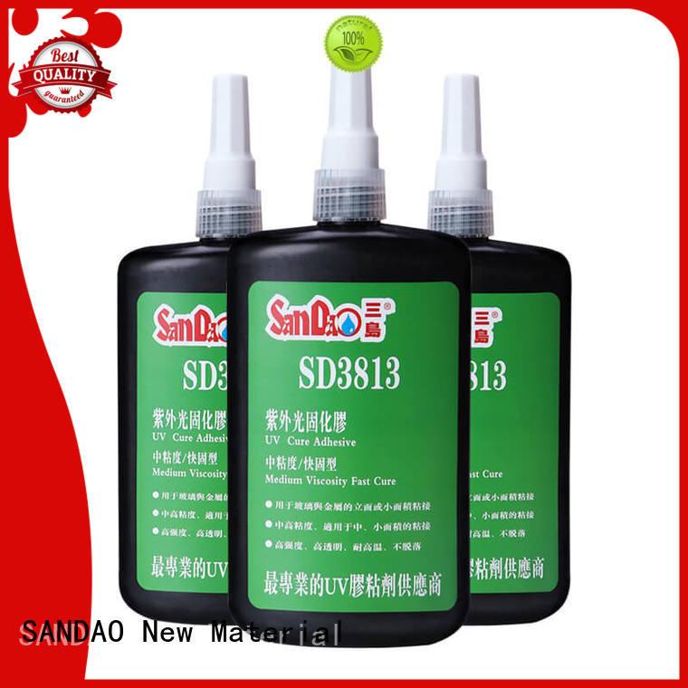 SANDAO uv bonding glue check now for screws