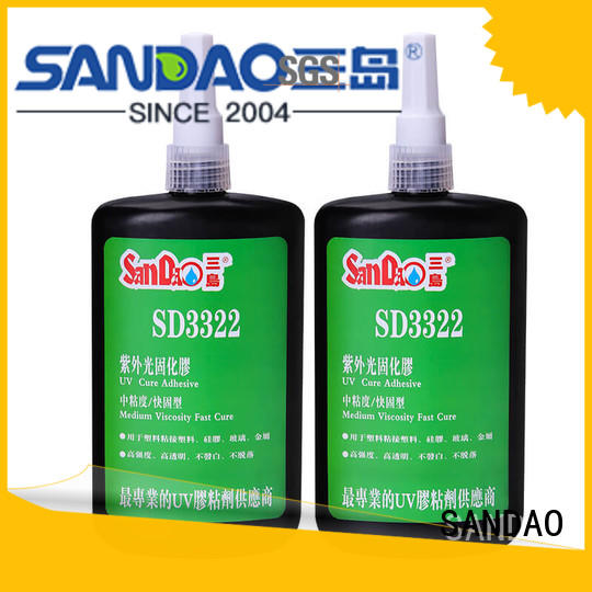 SANDAO glass uv bonding glue check now for electrical products