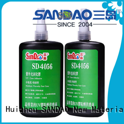 SANDAO inexpensive uv bonding glue for screws
