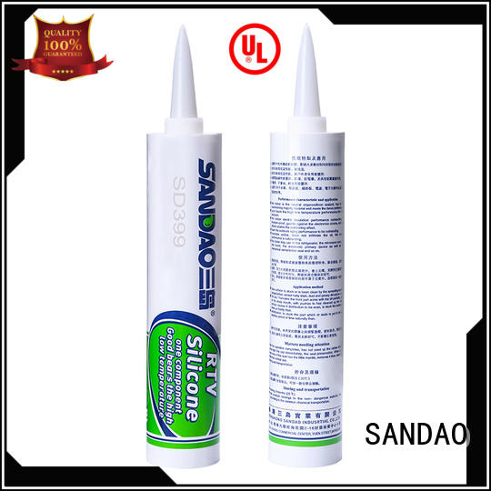 effective One-component RTV silicone rubber TDS economical in-green for screws
