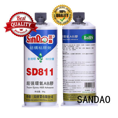 SANDAO inexpensive 2 part epoxy adhesive from manufacturer for screws