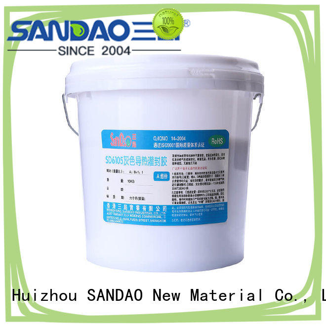 SANDAO useful Two-component addition-type potting adhesive TDS widely-use for metalparts