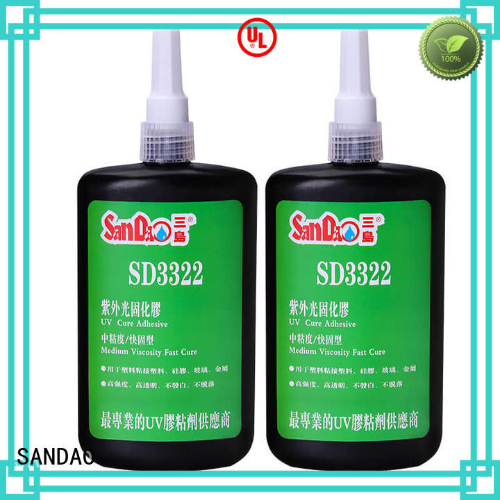 SANDAO metal uv bonding glue at discount for electronic products