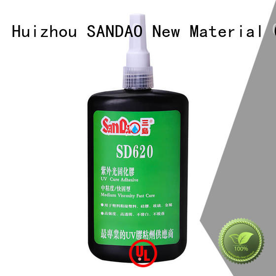 SANDAO excellent uv bonding glue free design for fixing products