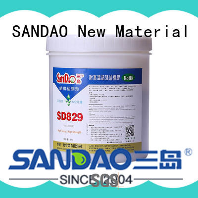 SANDAO potting 2 part epoxy adhesive at discount for heat sink