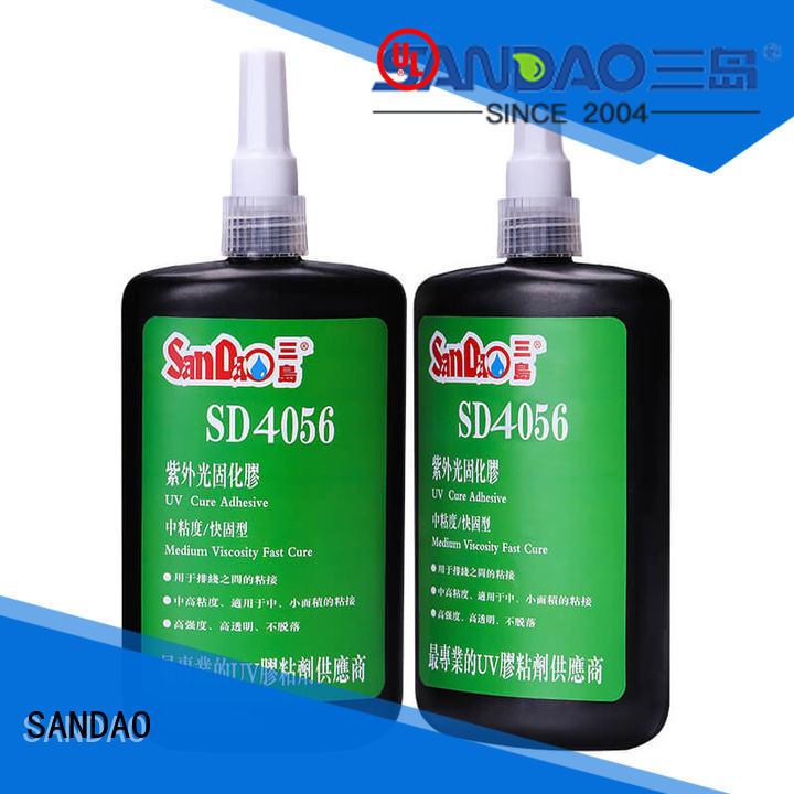 resin uv bonding glue factory price for screws