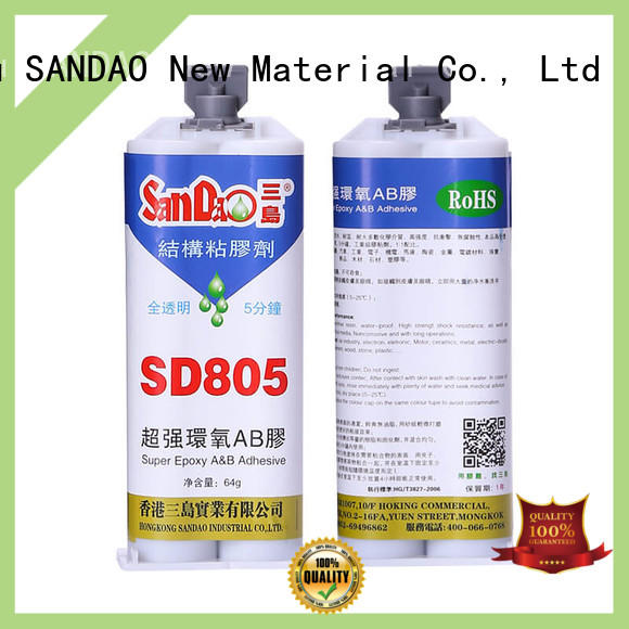 Fast drying transparent Epoxy resin AB adhesive SD805
