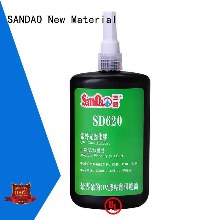 SANDAO first-rate uv bonding glue at discount for screws
