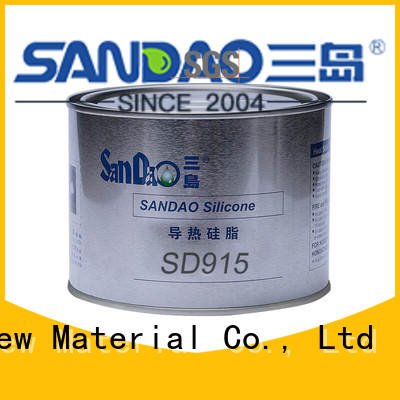 SANDAO resistant Thermal conductive material TDS bulk production for coffee pot gap filling