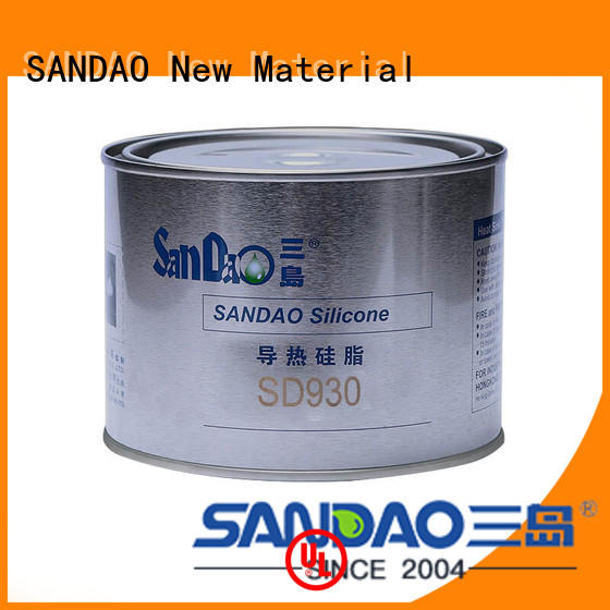 Thermal conductive material TDS conductivity for coffee pot gap filling SANDAO