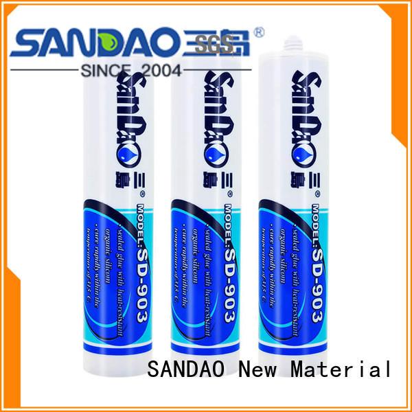 SANDAO rtv silicone rubber wholesale for screws