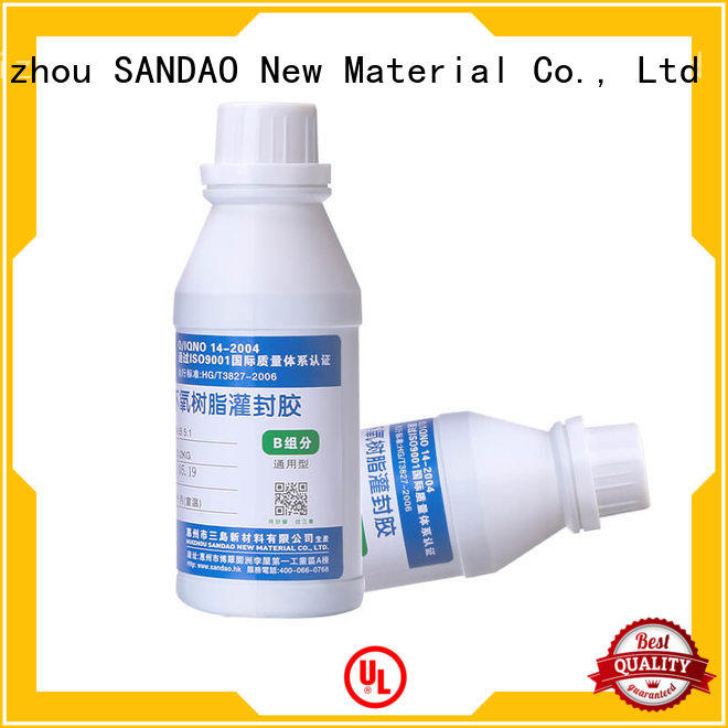 SANDAO heatconductive Two-component addition-type potting adhesive TDS wholesale for electronic parts