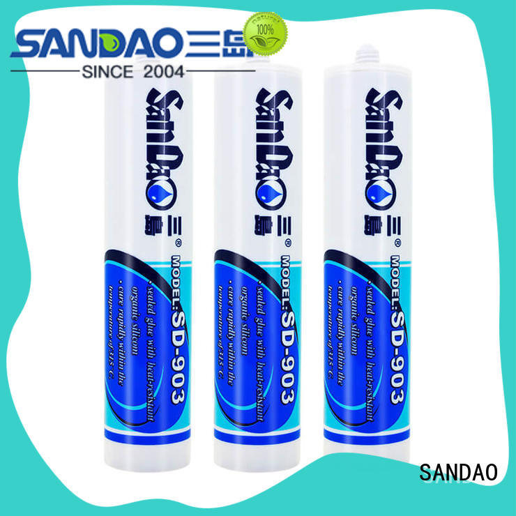 SANDAO printed rtv silicone rubber certifications for electronic products