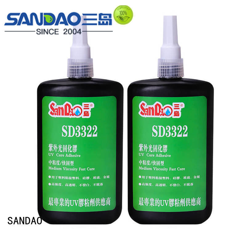 SD3322 UV adhesive for general plastic