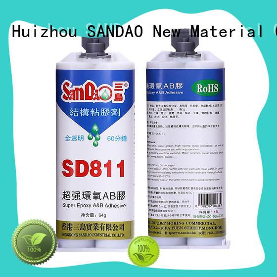 Transparent epoxy resin AB adhesive SD811